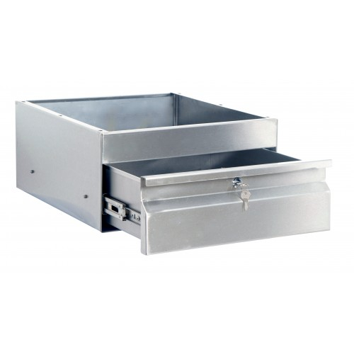 Kss stainless steel drawer w outside flange