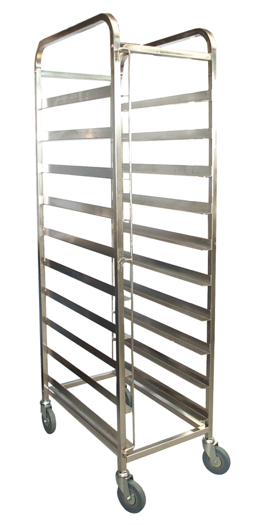 Kss 10 Tray Mobile Bakery Rack Trolley 18 Quot X29