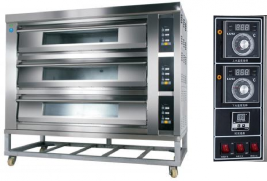 Amalfi Series Electric Three Deck Oven - 9 Trays 3D9T