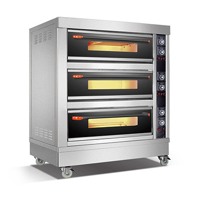 Amalfi Series Electric Three Deck Oven - 9 Trays