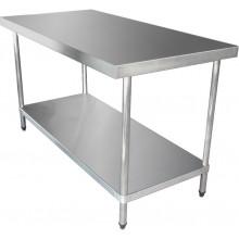 KSS 1500mm Bench w/ Shelf Underneath - 760 Depth