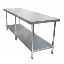 KSS 2400mm Bench w/ Shelf Underneath - 760 Depth
