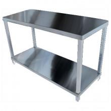 KSS 2400mm Bench w/ Shelf Underneath - 600 Depth