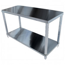 KSS 1500mm Bench w/ Shelf Underneath - 600 Depth