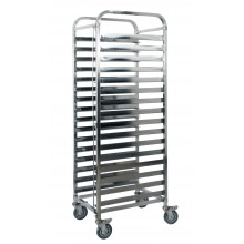 KSS 32 x 1/1  or 16 x 2/1  Tray Mobile Gastronorm Trolley