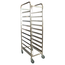 KSS 10 Tray Mobile Bakery Rack Trolley (16x29)