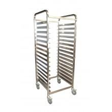 KSS 15 Tray Mobile Bakery Rack Trolley (16x29)