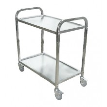 KSS 2 Tier Trolley W/ Castors