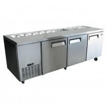 Mitchel Refrigeration 3 Door Sandwich Bar