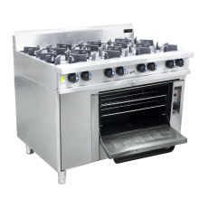 Oxford Series 8 Burner Cooktop w/ Gas Oven (on right hand side)