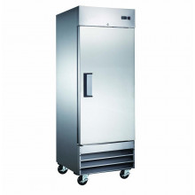 Mitchel Refrigeration Stainless Steel Single Door Refrigerator