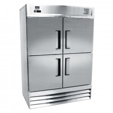 Mitchel Refrigeration Stainless Steel Four-Half Door Refrigerator