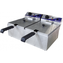 Royston Double Basket Fryer - 10 amp