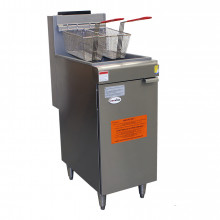 Single Tank Tube Fryer