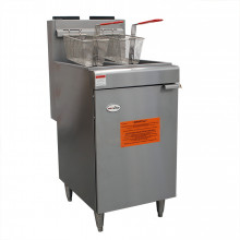 Twin Tank Tube Fryer