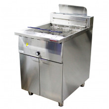 Oxford GFF-600 Single Tank Freestanding Gas Deep Fryer