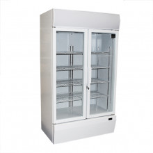 Mitchel Refrigeration Two Door Drinks Refrigerator (Swing Doors)