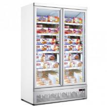Mitchel Refrigeration Two Door Glass Freezer