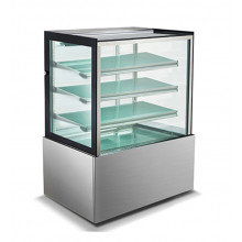 Mitchel Refrigeration 900mm Straight Glass Cold Display - 4 Shelves