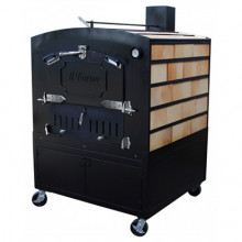 Amalfi Series Traditional Woodfired Oven - Large