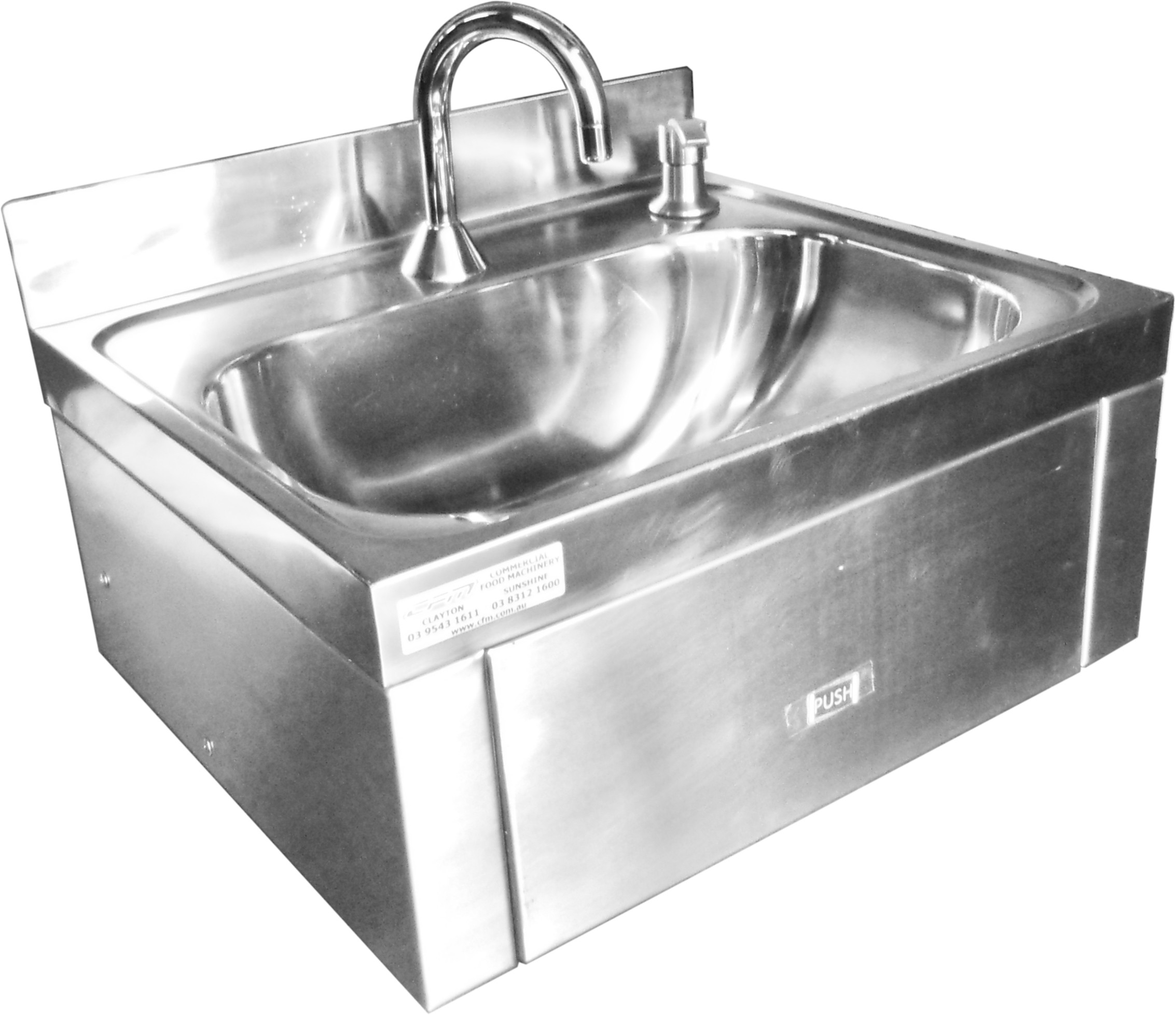 Master Flow Tapware Knee Operated Hands Free Sink